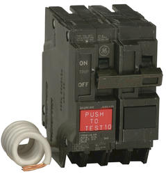 GE 50-Amp 2-Pole 120/240 Volt (GFCI) Ground Fault Circuit Breaker
