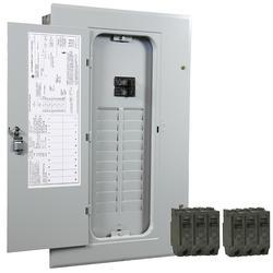 GE PowerMark Gold 100-Amp 20-Space 20-Circuit Indoor Contractor Value Kit