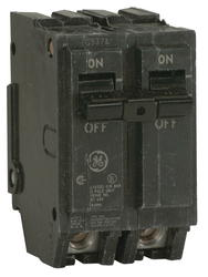 "GE 1"" 20-Amp Two-Pole 120/240 Volt Circuit Breaker"