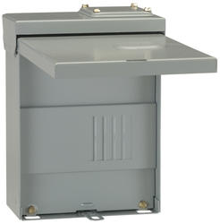 GE PowerMark Gold 70-Amp 2-Space 4-Circuit Outdoor Main Lug Load Center