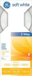 GE 100/200/300 Watt Mogul Base 3-Way Light Bulb