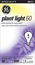 GE 60 Watt Grow and Show Plant Light Bulb
