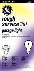GE 150 Watt 130 Volt A21 Garage Light Bulb