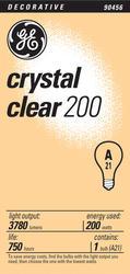 GE 200 Watt Crystal Clear Light Bulb