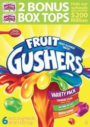 Betty Crocker 6-ct Gushers Fruit Snacks Variety Pack