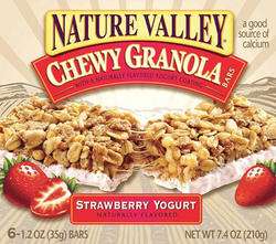 Nature Valley Strawberry Yogurt Chewy Granola Bars - 6-ct