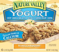 Nature Valley Vanilla Yogurt Granola Bars - 6-ct