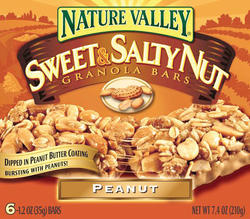 Nature Valley Sweet & Salty Peanut Granola Bars - 6-ct
