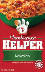 Betty Crocker Hamburger Helper Italian Lasagna - 6.4 oz