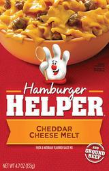 Betty Crocker Hamburger Helper Classic Cheddar Cheese Melt - 4.7 oz