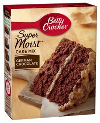 Betty Crocker SuperMoist German Chocolate Cake Mix - 15.25 oz