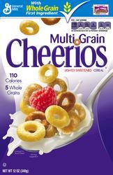 Cheerios Multi Grain Cereal - 12 oz