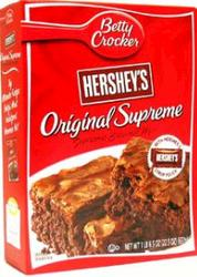 Betty Crocker Hershey's Original Supreme Brownie Mix - 18.4 oz