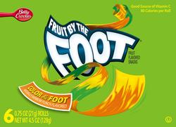 Fruit By The Foot Color By The Foot Snacks - 6-ct