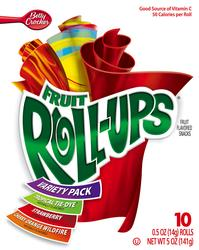 Fruit Roll-Ups Variety Pack Fruit Snacks- 10-ct