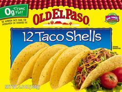 Old El Paso Taco Shells - 12-ct
