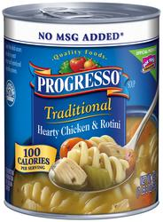 Progresso Traditional Hearty Chicken & Rotini Soup - 19 oz