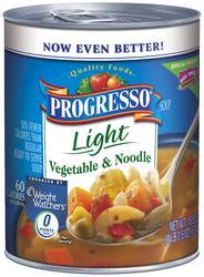Progresso Light Vegetable & Noodle Soup - 18.5 oz