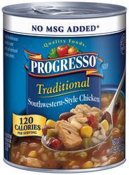 Progresso Traditional Southwestern-Style Chicken Soup - 19 oz