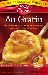 Betty Crocker Au Gratin Potatoes - 4.9 oz
