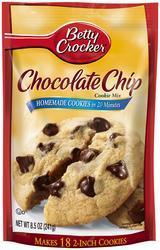 Betty Crocker Chocolate Chip Cookie Mix - 17.5 oz