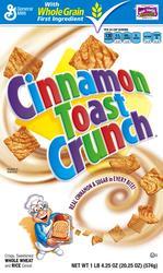 Cinnamon Toast Crunch Cereal - 20.25 oz