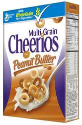 Cheerios Multi Grain Peanut Butter Cereal - 11.3 oz