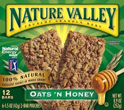 Nature Valley Crunchy Oats 'n Honey Granola Bars - 12-ct