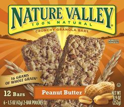 Nature Valley Crunchy Peanut Butter Granola Bars - 12-ct