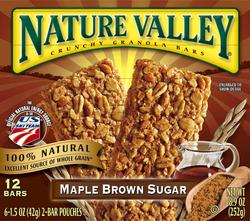 Nature Valley Crunchy Maple and Brown Sugar Granola Bars - 12-ct