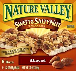 Nature Valley Sweet & Salty Almond Granola Bars - 6-ct