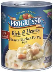 Progresso Rich & Hearty Chicken Pot Pie Style Soup - 18.6 oz