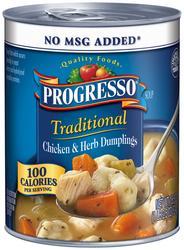 Progresso Traditional Chicken & Herb Dumplings Soup - 18.5 oz