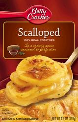 Betty Crocker Scalloped Potatoes - 4.9 oz