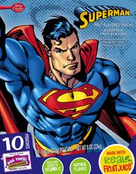 Betty Crocker Superman Fruit Snacks - 10-ct