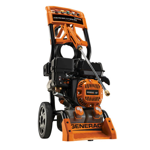 Generac 174 3 100 Psi 2 7 Gpm Residential Power Washer At