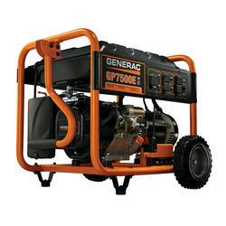 Generac® 9,375 Peak/7,500 Running Watts Electric Start Portable Generator