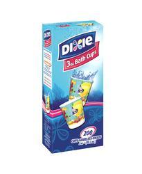 Dixie 3 oz Decorative Bath Cups