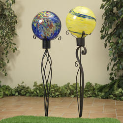 "33"" Gazing Ball Holder - Assorted"