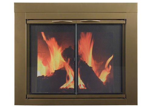 Ashlynn Small Cabinet Style Fireplace Door At Menards 174