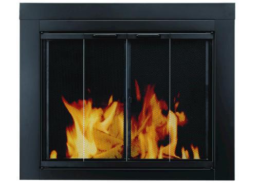 Ascot Bi Fold Style Fireplace Door at Menards