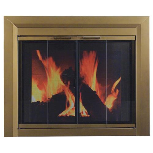 Carrington Bi Fold Style Fireplace Door at Menards
