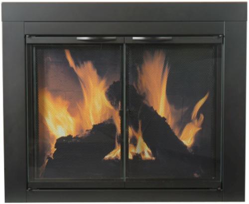 Astor Small Cabinet Fireplace Door At Menards 174