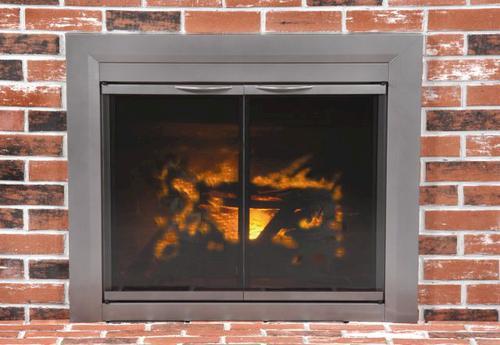 Craton Medium Cabinet Style Fireplace Door at Menards