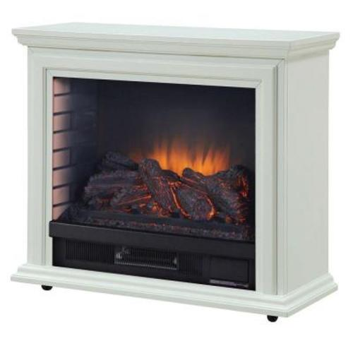 Sheridan Mobile Infrared Electric Fireplace With Remote At Menards