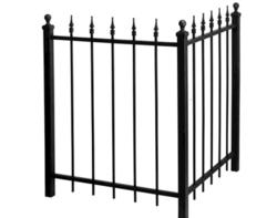 "Gilpin Inc. Metalist 36"" x 4' x 6"" Fence"