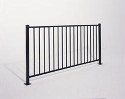 "Gilpin Inc. Embassy 66"" x 6' x 4"" Fence"