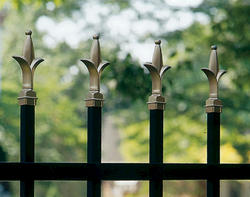"Gilpin Inc. Standard Grade Fleur-de-Lis Finials for 48"" Gates"