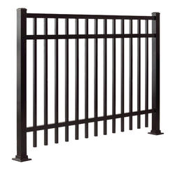 "Gilpin Inc. Elite Grade Legacy 48"" x 96"" Heavy-Duty Aluminum Fence Panel"