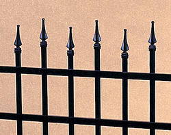 "Gilpin Inc. Elite Grade Spear Tip Finials for 48"" Gates"
